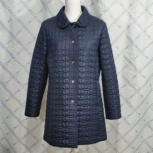 Kate Spade New York Women's Quilted Jacket Navy